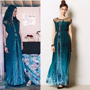 Anthropologie Icefall Maxi by Geisha Designs